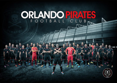 Orlando Pirates - 2015 Season Brand Work 1