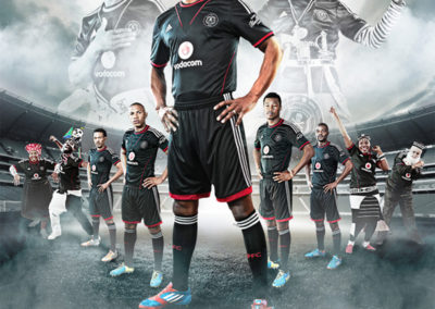 Orlando Pirates - 2015 Season Brand Work 3
